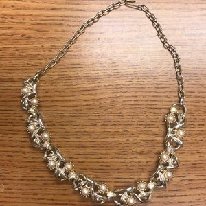 SPARKLING Gold-toned necklace